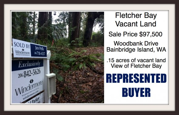 Woodbank land on Bainbridge Island sold by Jen Pells of Windermere Bainbridge