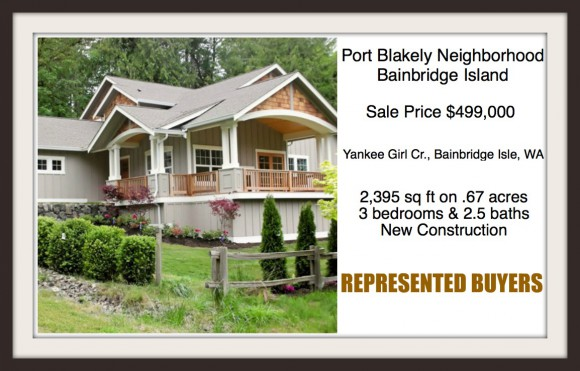 Yankee Girl Circle on Bainbridge Island sold by Jen Pells, Realtor