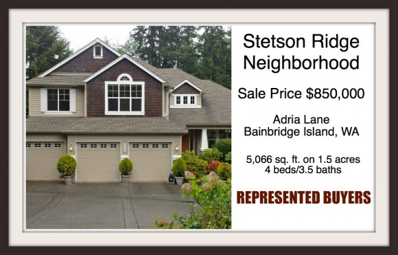 Stetson Ridge home on Bainbridge Island sold by Realtor Jen Pells