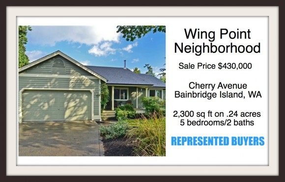 Cherry Avenue on Bainbridge Island sold by Jen Pells