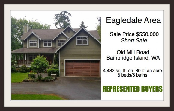 Old Mill Rd home on Bainbridge Island sold by Realtor Jen Pells