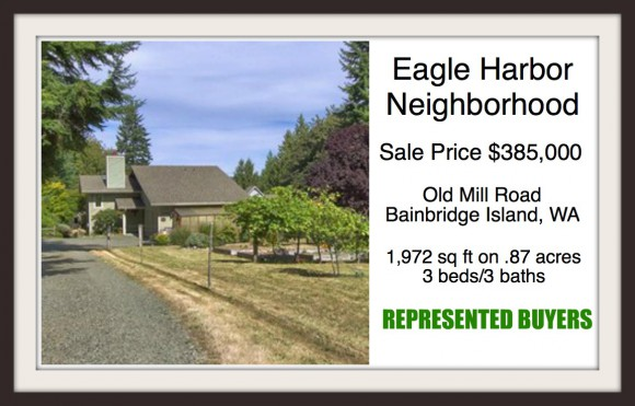 Old Mill Road on Bainbridge Island sold by Jen Pells