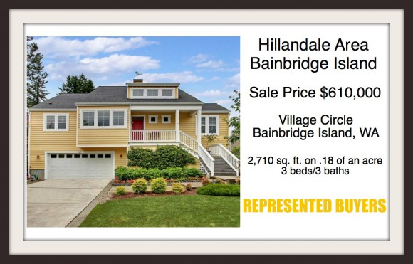 Village Circle on Bainbridge Island sold by Realtor Jen Pells