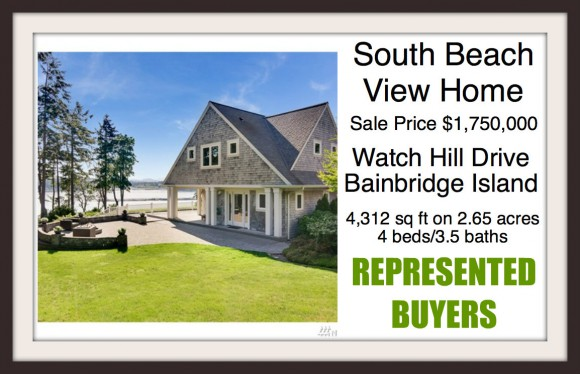 Watch Hill Road on Bainbridge Island Sold by Jen Pells of Windermere