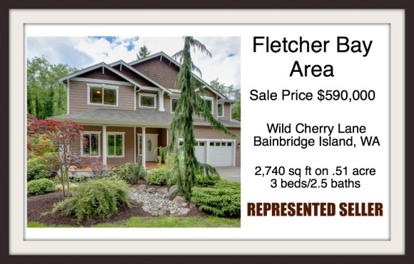 Wild Cherry Lane on Bainbridge Island Sold by Jen Pells