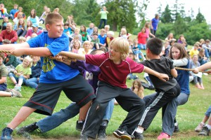 Tug-o-War at Blakely Elementary on Bainbridge | Jen Pells Realtor