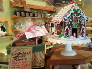 Gingerbread Houses at Blackbird Bakery | by Jen Pells | Bainbridge Realtor