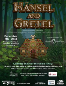 Hansel & Gretel at BPA on Bainbridge Island