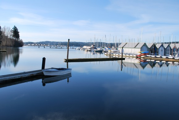 The Poulsbo Waterfront by Jen Pells