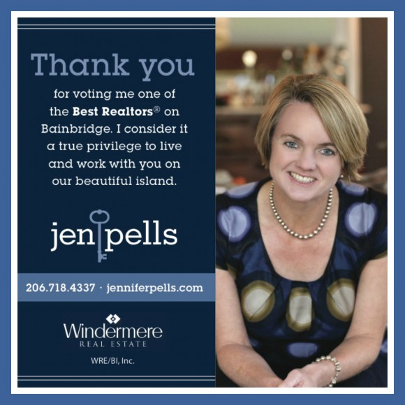 Best of Bainbridge Realtor Jen Pells