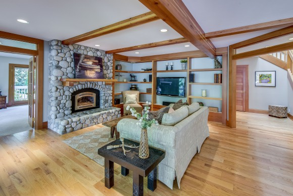 10207 Affirmed Lane on Bainbridge Island. Listed by Jen Pells of Windermere Bainbridge.