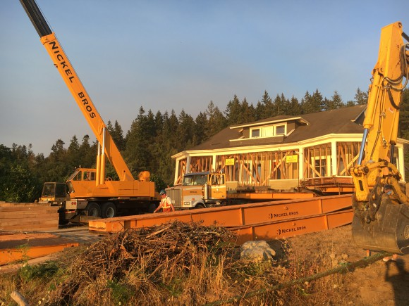 Nickel Brother Moves a Home to Bainbridge Island - Jen Pells Realtor