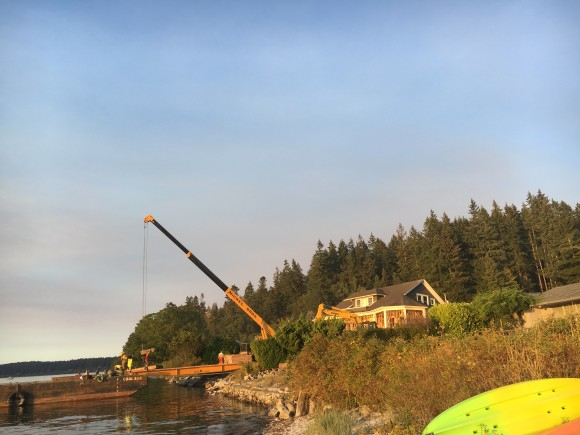 Nickel Bros move a home to Bainbridge Island - Jen Pells Realtor