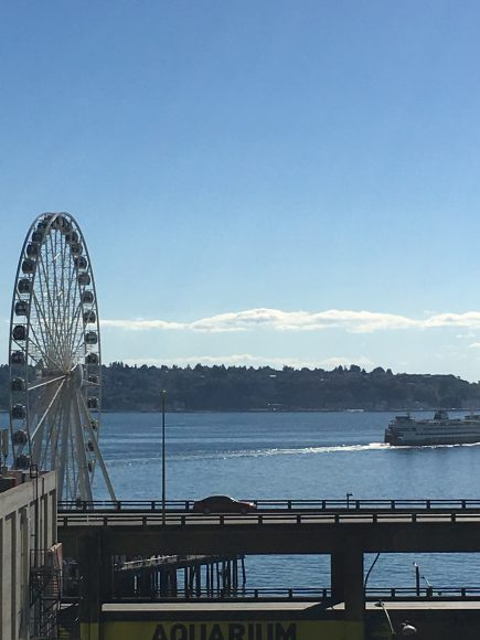 The Seattle Wheel by Jen Pells Windermere Realtor
