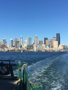 From the Seattle to Bainbridge Ferry by Jen Pells Windermere Realtor