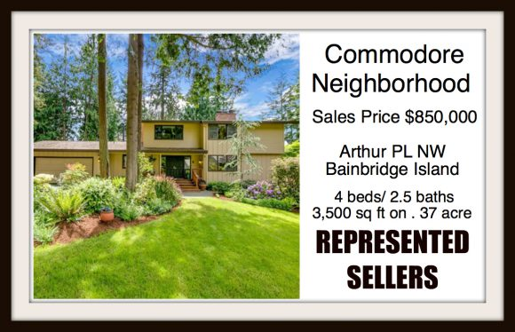 Arthur PL on Bainbridge Island sold by Jen Pells Real Estate