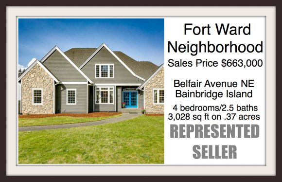 Fort Ward home on Bainbridge sold by Jen Pells Real Estate