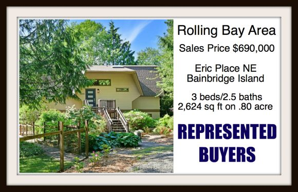 Eric Place on Bainbridge Island sold by Jen Pells Real Estate