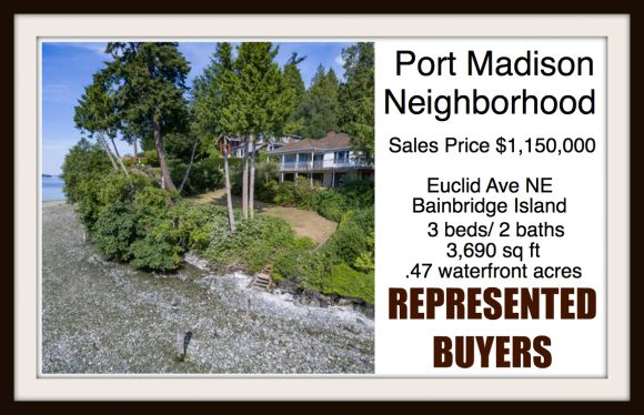 Euclid AVE on Bainbridge Island sold by Jen Pells Real Estate