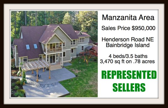 Henderson Road on Bainbridge Island sold by Jen Pells Real Estate