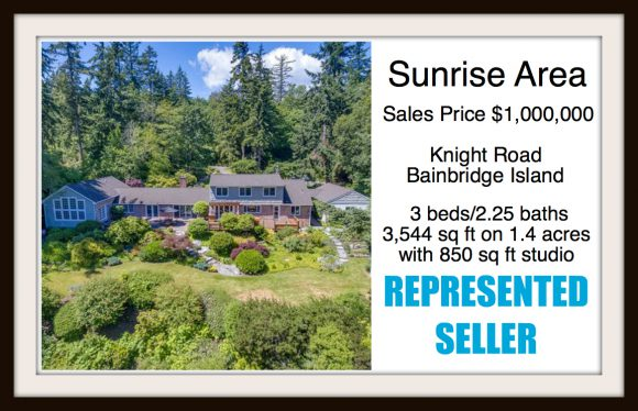 Knight Road on Bainbridge Island sold by Jen Pells Real Estate