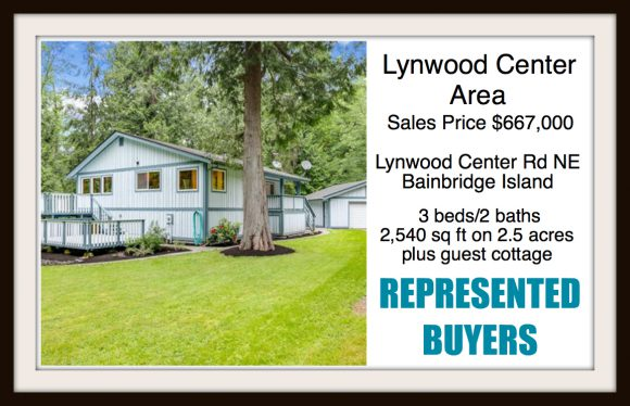 Lynwood Center Rd home on Bainbridge Island sold by Jen Pells Real Estate