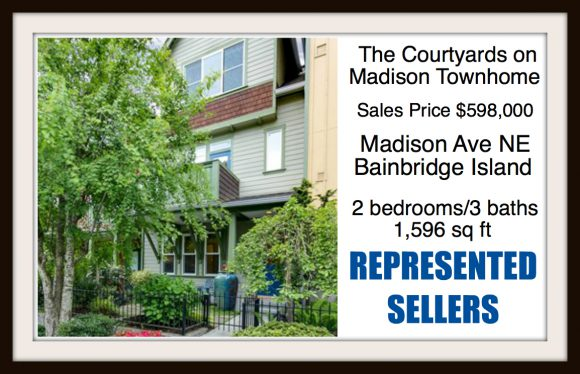 Madison Ave on Bainbridge Island sold by Jen Pells Real Estate