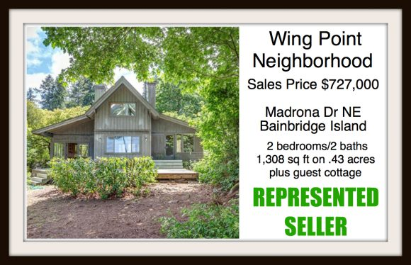 Madrona Dr on Bainbridge Island sold by Jen Pells Real Estate