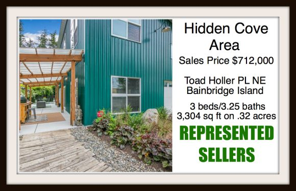 Toad Holler PL on Bainbridge Island sold by Jen Pells Real Estate