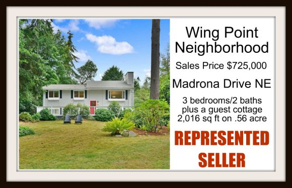 Madrona Drive NE on Bainbridge Island sold by Jen Pells Real Estate