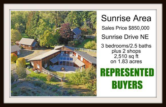 Sunrise Drive home sold by Jen Pells Windermere