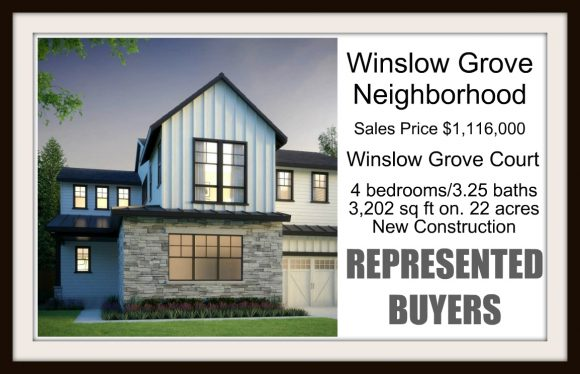 Winslow Grove Sold by Jen Pells