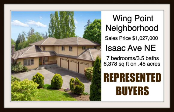 Isaac Ave on Bainbridge Island sold by Jen Pells Real Estate