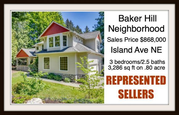 Island Ave on Bainbridge Island sold by Jen Pells Real Estate