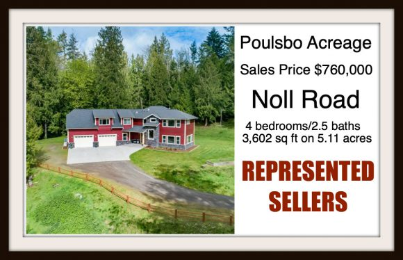 Noll Rd in Poulsbo sold by Jen Pells Real Estate