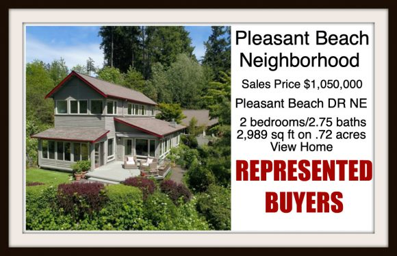Pleasant Beach Drive on Bainbridge Island sold by Jen Pells Real Estate
