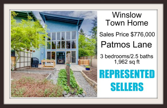 Patmos Lane on Bainbridge Island sold by Jen Pells