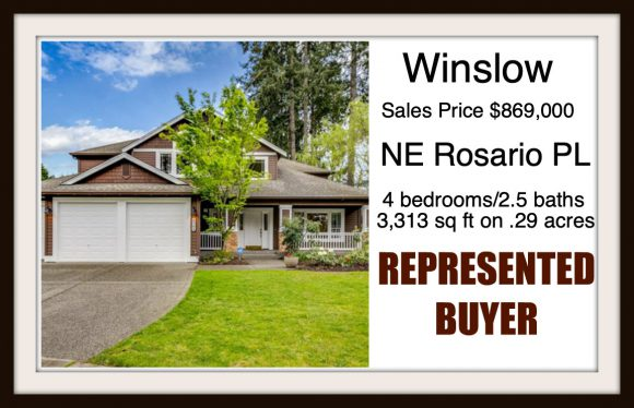 Rosario PL on Bainbridge Island sold by Jen Pells Real Estate