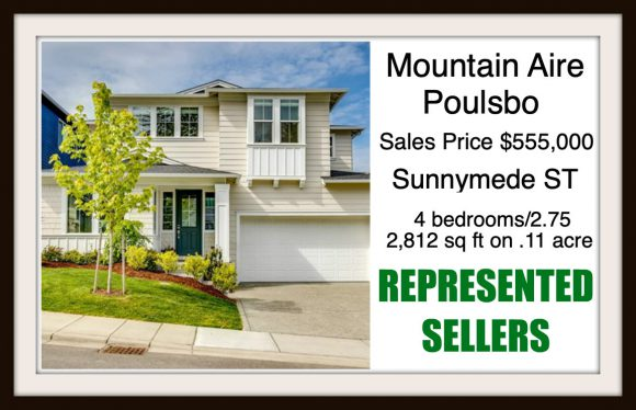 Sunnymede St in Poulsbo sold by Jen Pells Real Estate