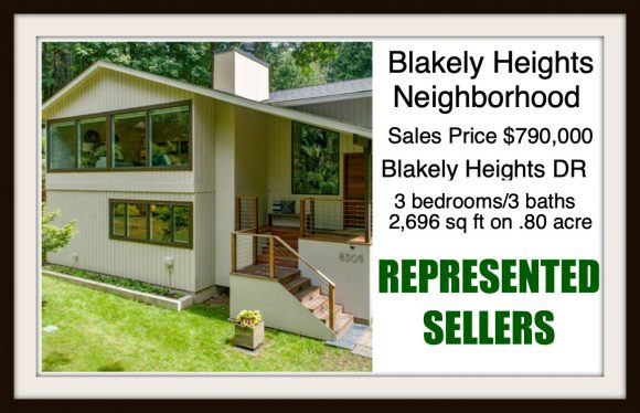 Blakely Heights on Bainbridge Island sold by Jen Pells Real Estate