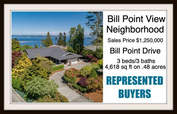 Bill Point Drive on Bainbridge Island sold by Jen Pells Real Estate
