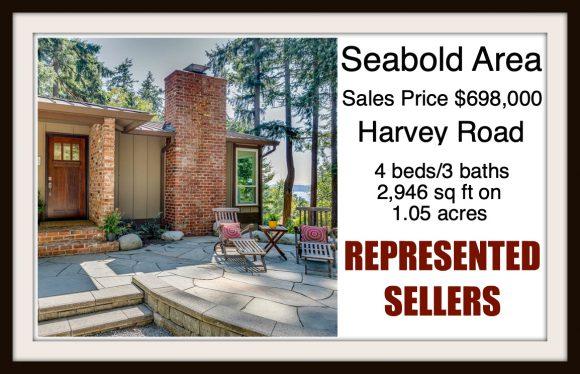 Harvey Rd on Bainbridge Island sold by Jen Pells Real Estate