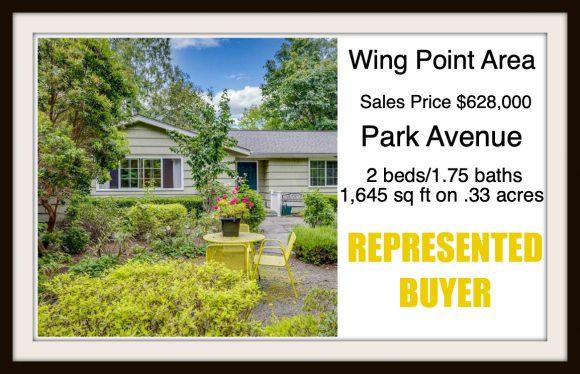 Park Ave on Bainbridge Island sold by Jen Pells Real Estate