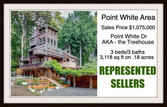 Point White Dr on Bainbridge Island sold by Jen Pells Real Estate