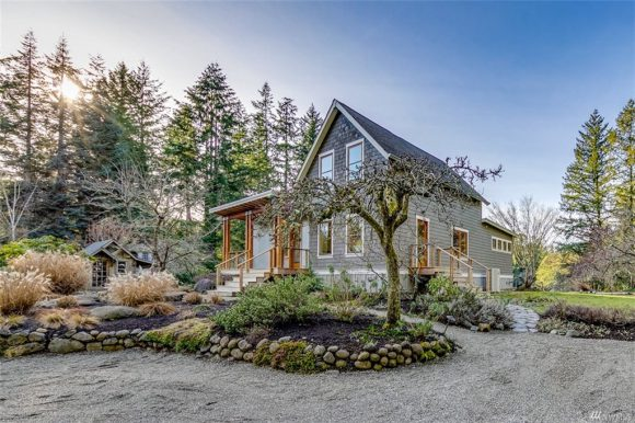 11711 Two Creeks Road NE on Bainbridge Island sold in 2019