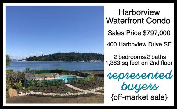Harborview Waterfront Condo on Bainbridge Island sold by Jen Pells Realtor